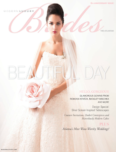 Modern Luxury - The Atlanta Brides