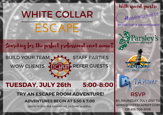 Escapery-Professionals Event